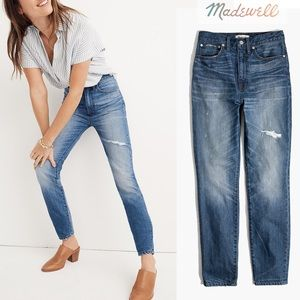 Madewell Rigid High Rise Skinny Jean Napa 27 Tall